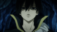 Zeref talks to Acnologia