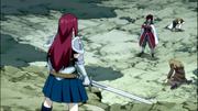 Cobra vs. Erza's Group