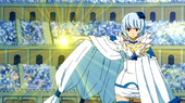 Yukino opening the gate of Pisces