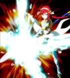 Erza using Lighting Armor Staff