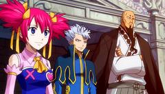 Chelia Jura y Lyon ven la batalla de Natsu