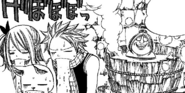 Team Natsu doesn't enjoy the soup anymore