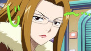 An angry Evergreen looks at Elfman