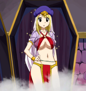 Lucy from a Compete transformation box (Anime)