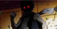 Smocza moc Natsu podczas walki z Kageyamą