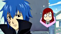 Erza sees Mystogan in Fairy Academy