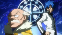Makarov and Jellal as Wizard Saints