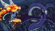 Natsu Dragneel & Happy vs. Cobra & Cubellios