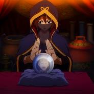 Eclair reading fortunes