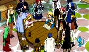 Los miembros de Fairy Tail investigan sobre Neville