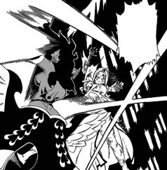 Sayla ataca salvajemente a Mirajane