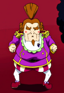 Count Balsamico's appearance
