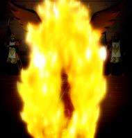 Eclair en el fuego