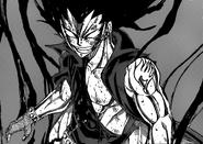 Gajeel Dragon de Hierro de la sombra Cara