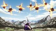 Kagura's Flying Form