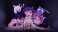 Natsu and others barge in