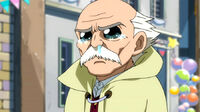 Makarov moved by Laxus' words