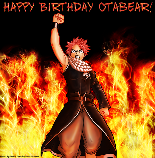 Ota Birthday Art