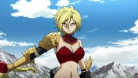Dimaria with her sword