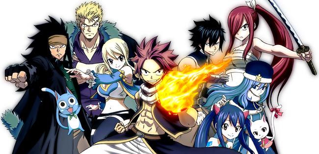 Fairy Tail Anime 2014