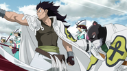 Gajeel and Lily arrive at Malba