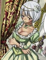 Yukino w sukni balowej