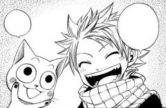 Natsu decide el nombre de Happy