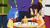 Young Cana playing with Young Levy