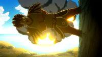 Azuma destroys Magic Council ships
