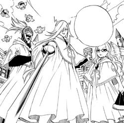 Los Raijinshuu purificados desafían a Gray