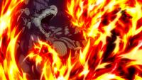 Natsu & Atlas Flame vs. Future Rogue & Motherglare