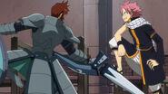 Dan's Habaraki blocked by Natsu