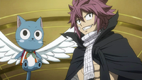 Natsu and Happy meet the royal family
