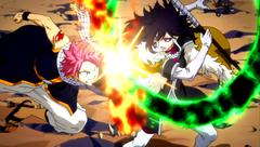Natsu vs Midnight