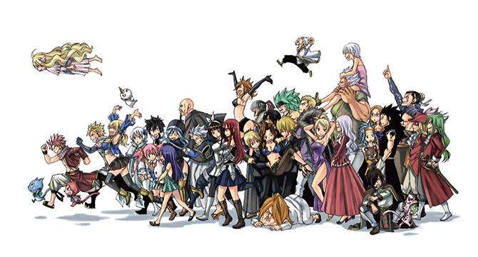 Characters List Of Fairy Tail