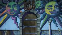Wejście do Baru - anime