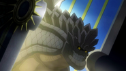 Rock Dragon arrives through the gate