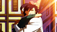 Romeo hugging Macao
