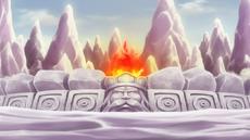 La Llama Encendida y Débil