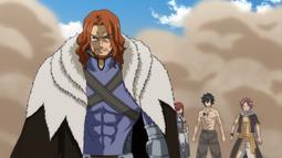 Gildarts llega al campo de Guerra