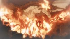 Atlas Flame recordando a Igneel