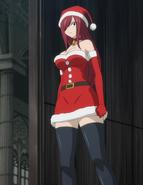 Erza's Christmas attire