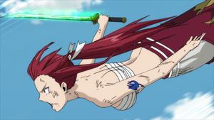 Erza's Dragon Slayer sword