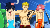 Laxus with the culprits