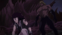 Tempester about to take down Gajeel