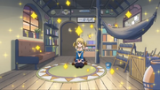 Casa Natsu y Happy limpia