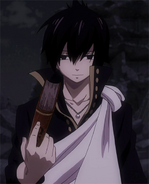 Zeref takes the book