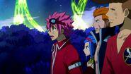 Dragion alongside Edo Fairy Tail