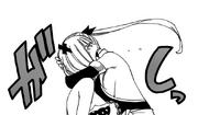 Lucy abraza a Brandish