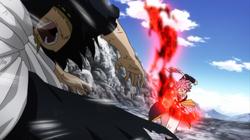 Natsu Ataca a Zeref
